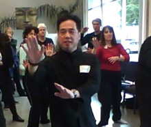 Corporate Tai Chi Classes with Jason Chan